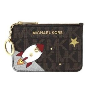 Michael Kors Illustrations TZ Coin Pouch With ID